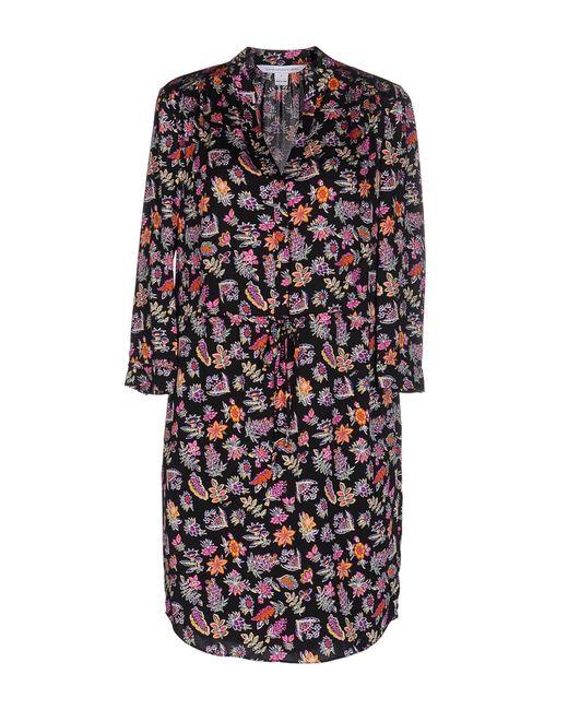 Diane von Furstenberg | Black Short Dress | Lyst