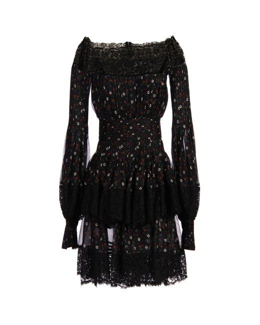 Alexander McQueen   Black Short Dress   Lyst