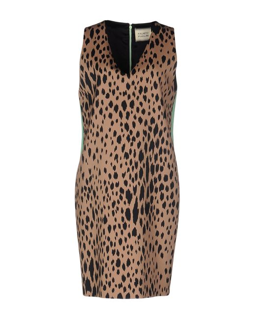 Fausto Puglisi | Natural Short Dress | Lyst