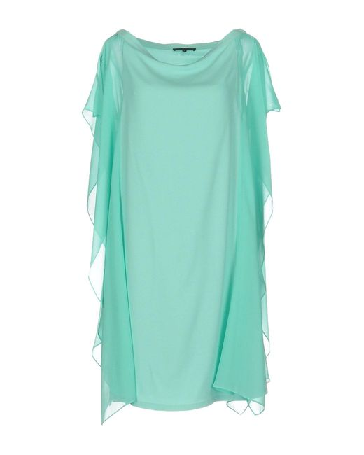 Patrizia Pepe | Green Short Dress | Lyst