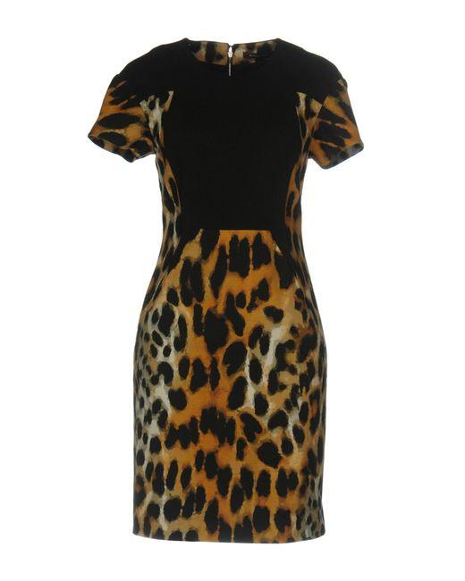Rachel Roy | Black Short Dress | Lyst