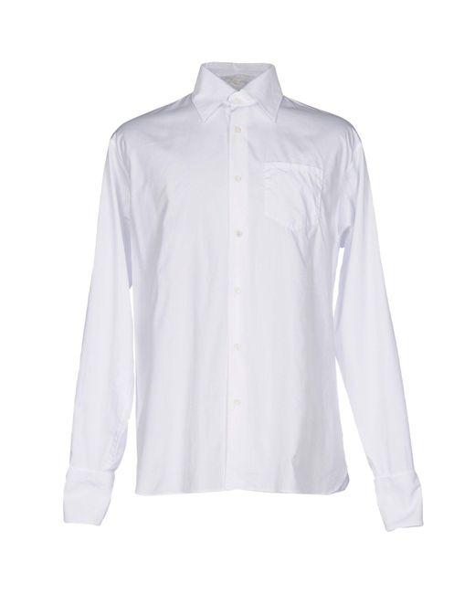 Prada | White Shirt for Men | Lyst