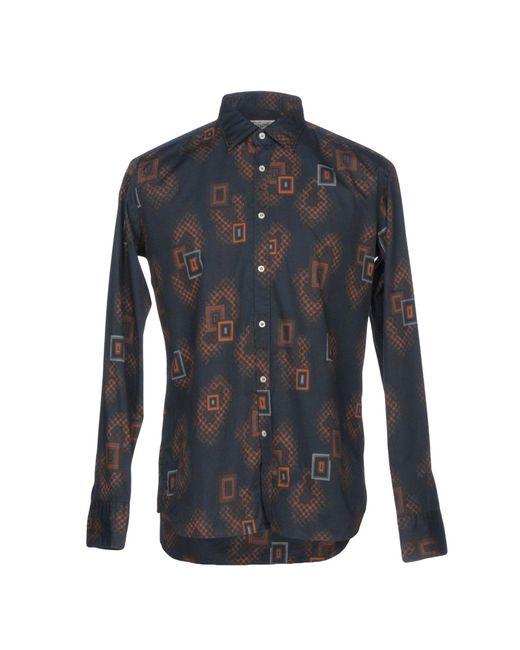 Bevilacqua - Blue Shirt for Men - Lyst