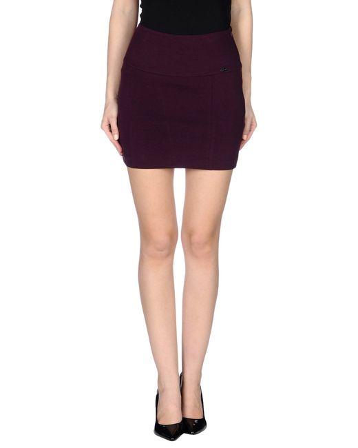 GAUDI | Purple Mini Skirt | Lyst