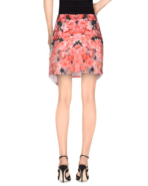 Keeperfinder Com Clothes: Finders Keepers Mini Skirt In Red