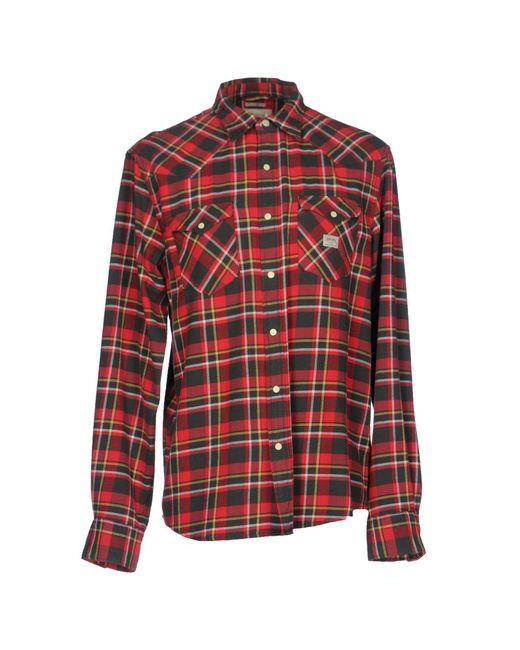 Denim & Supply Ralph Lauren | Red Shirt for Men | Lyst