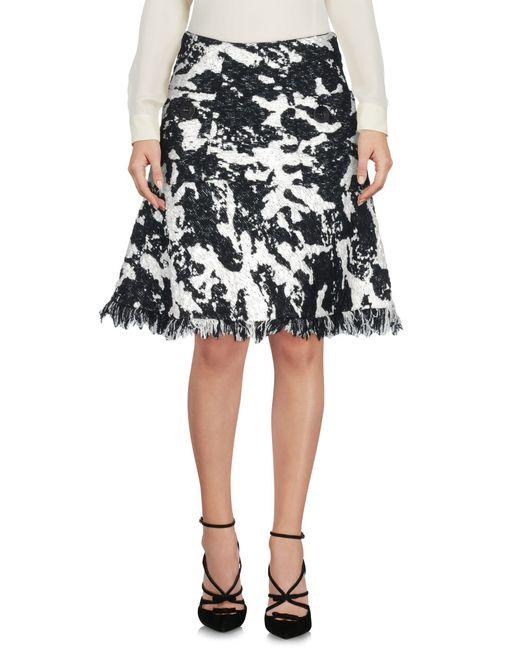 Neil Barrett | White Knee Length Skirt | Lyst