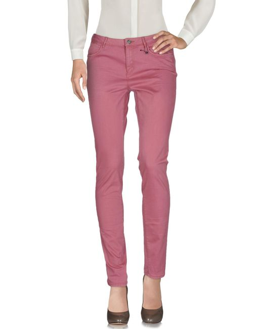 Maison Scotch | Pink Casual Trouser | Lyst