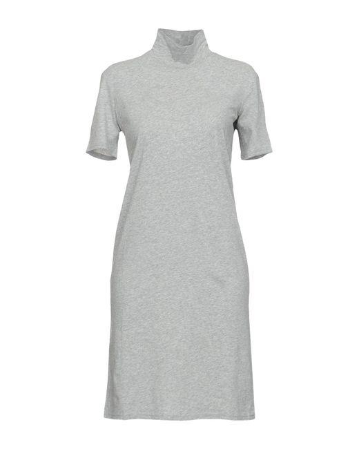 Cheap Monday - Gray Short Dress - Lyst