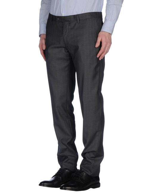 GAUDI | Gray Casual Pants for Men | Lyst