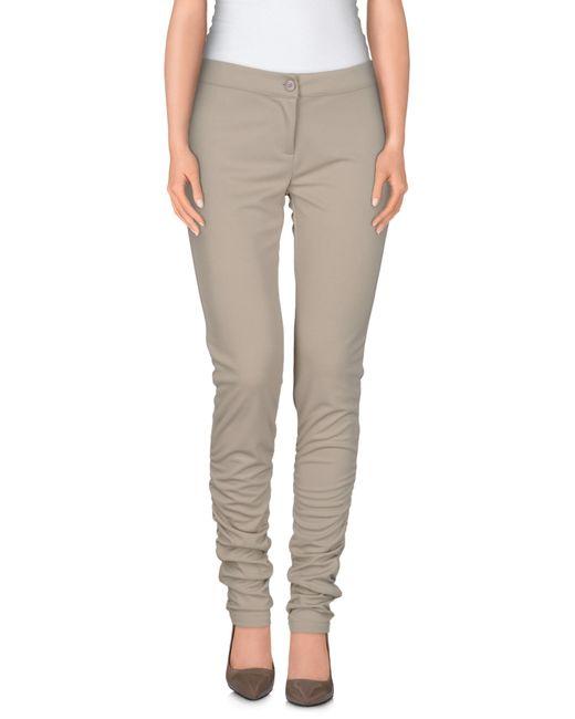 GAUDI | Gray Casual Trouser | Lyst