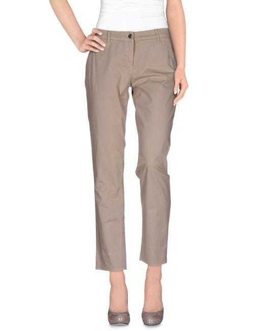Patrizia Pepe | Gray Casual Trouser | Lyst