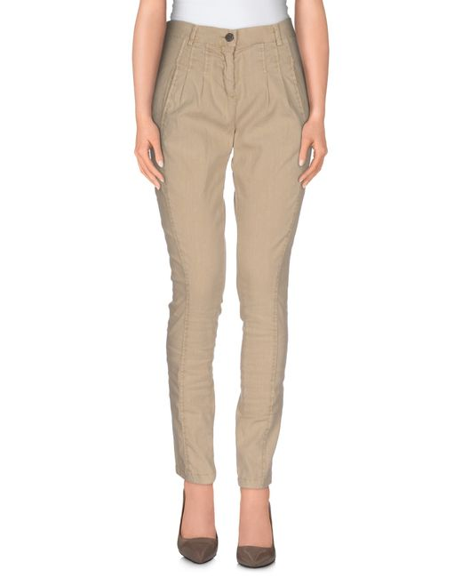 Twin Set | Natural Casual Trouser | Lyst