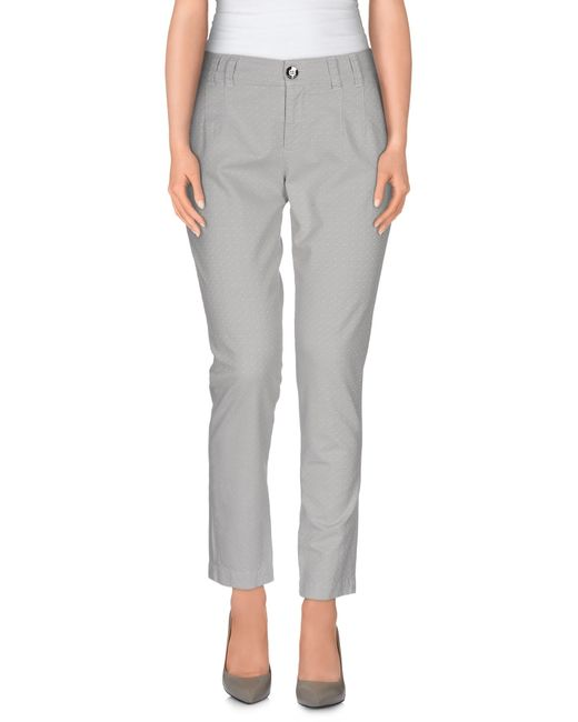 Pinko | Gray Casual Pants | Lyst