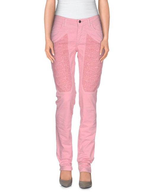 Jeckerson | Pink Casual Pants | Lyst