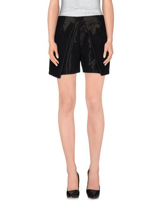 Pinko | Black Shorts | Lyst