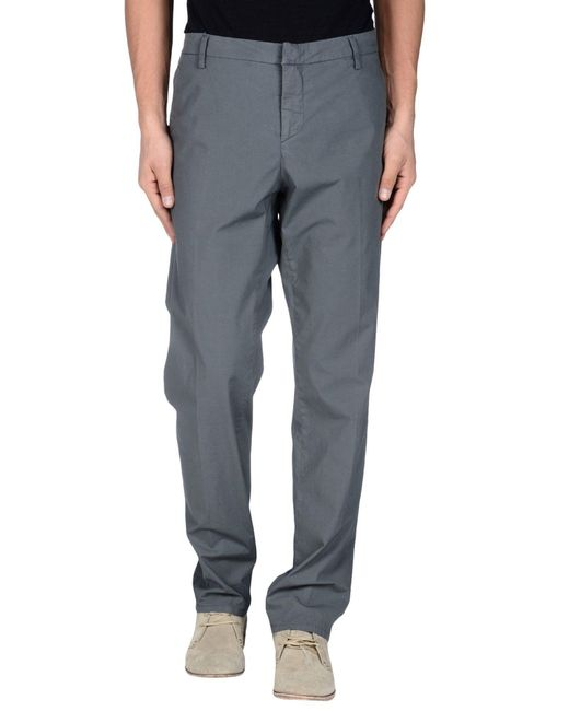 Dondup | Gray Casual Trouser for Men | Lyst