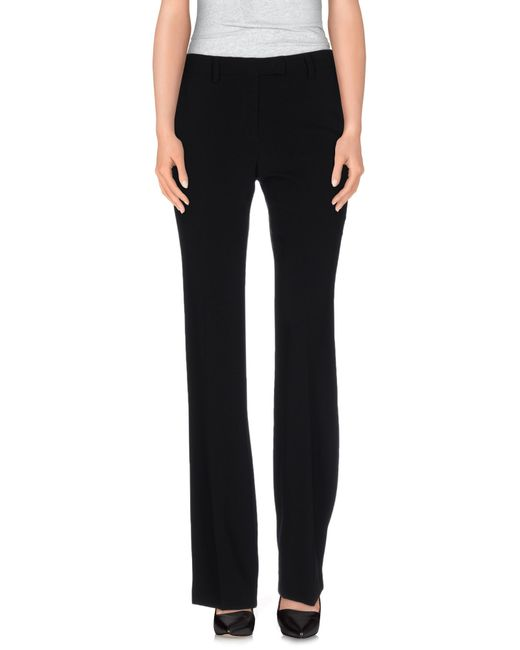 Alberto Biani | Black Casual Pants | Lyst