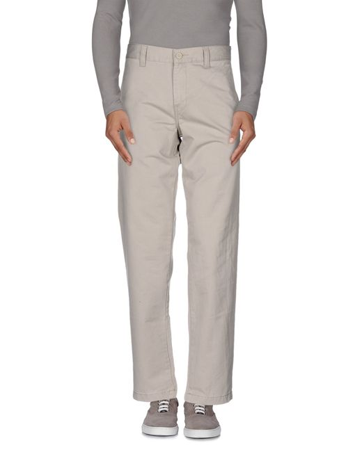Carhartt | Gray Casual Pants for Men | Lyst
