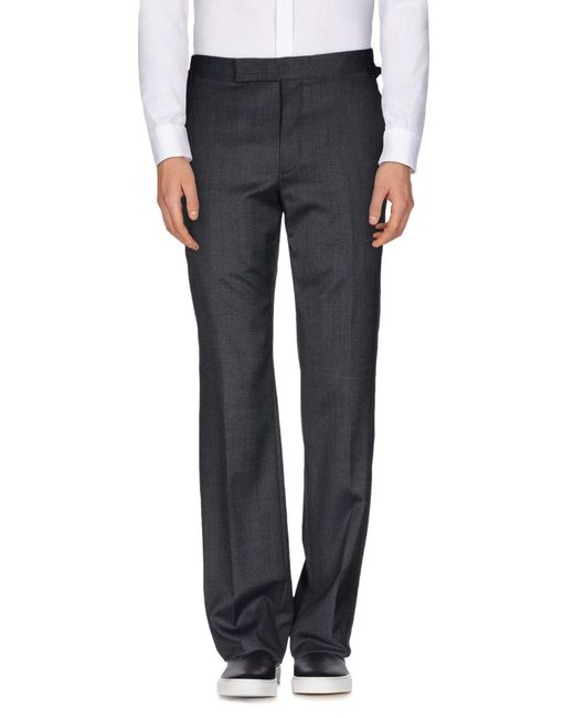 tom ford casual trouser in gray for grey lyst