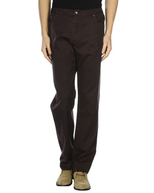 Geox | Brown Casual Pants for Men | Lyst