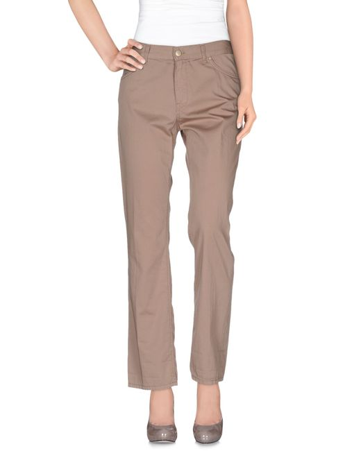 Dondup   Gray Casual Trouser   Lyst