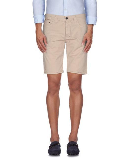 Dekker | Natural Bermuda Shorts for Men | Lyst