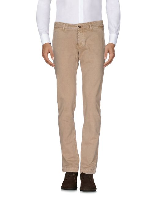 Pure | Natural Casual Trouser for Men | Lyst