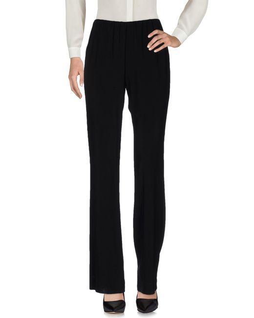 Donna Karan   Black Casual Trouser   Lyst