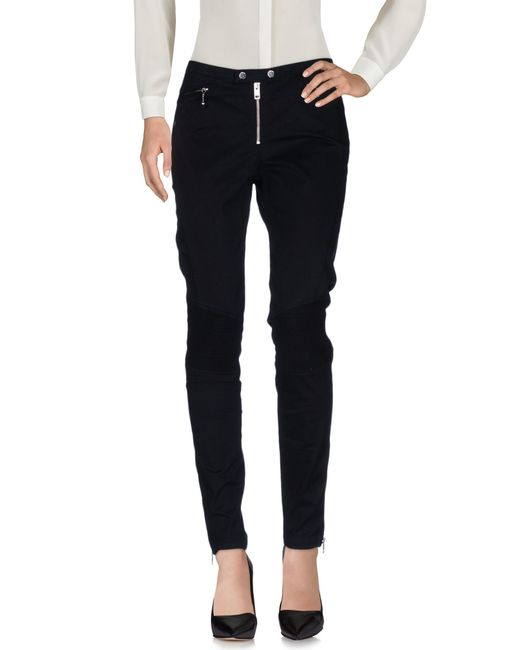 DIESEL | Black Casual Pants | Lyst
