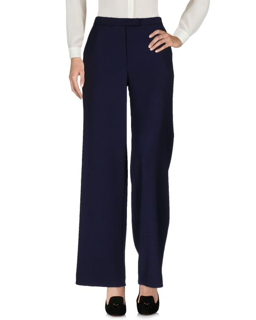 OSMAN | Blue Casual Trouser | Lyst