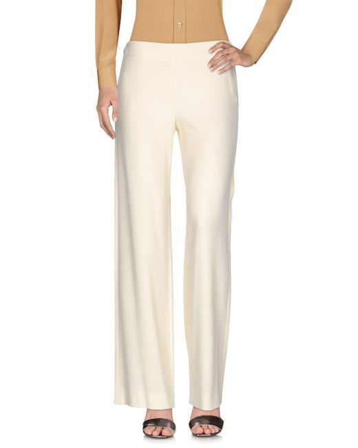 Helmut Lang | White Casual Pants | Lyst