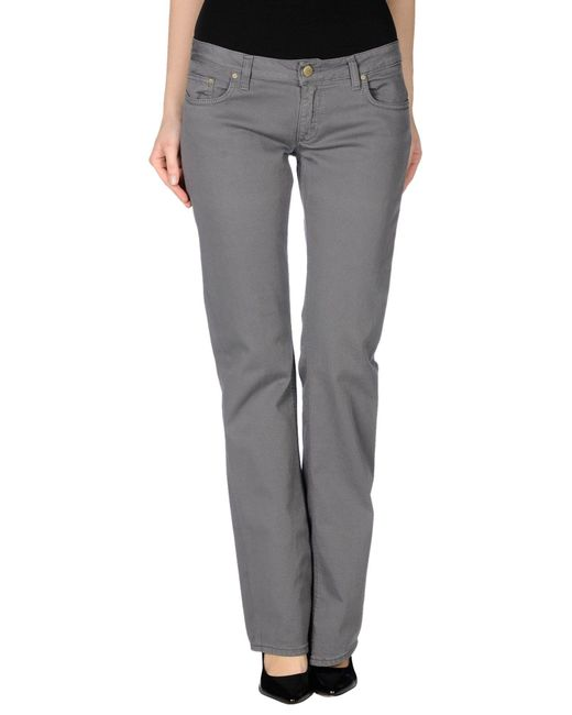 Dondup - Gray Casual Pants - Lyst
