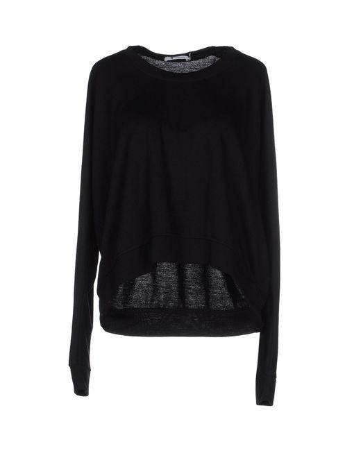T By Alexander Wang   Black Sweatshirt   Lyst