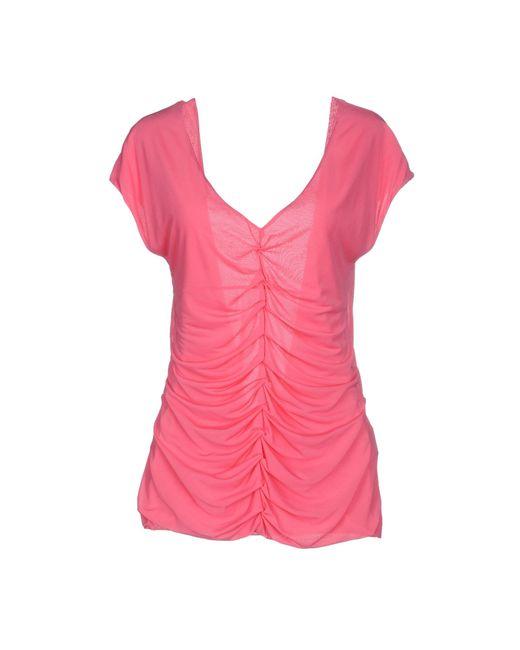Pinko | Pink Top | Lyst