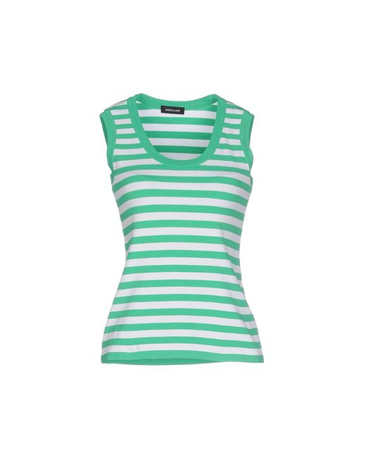 Anneclaire   Green Tank Top   Lyst