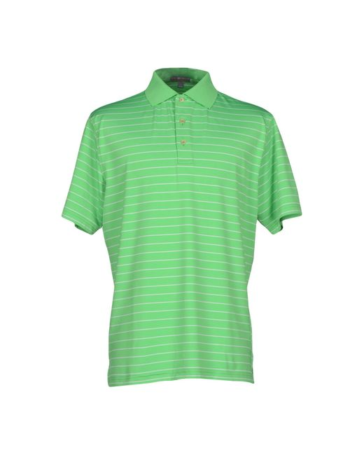 Peter Millar | Green Polo Shirt for Men | Lyst