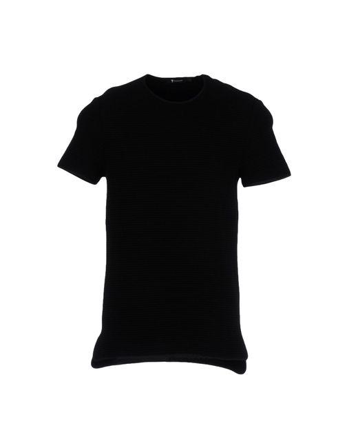 T By Alexander Wang | Black T-shirt for Men | Lyst