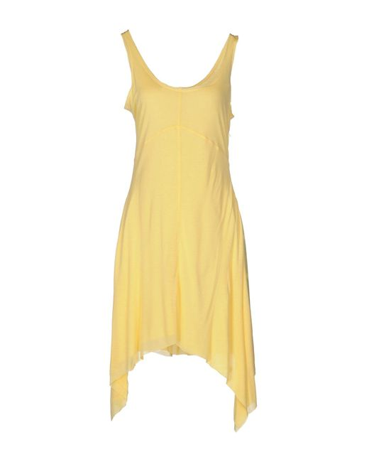 Bomboogie | Yellow Knee-length Dress | Lyst