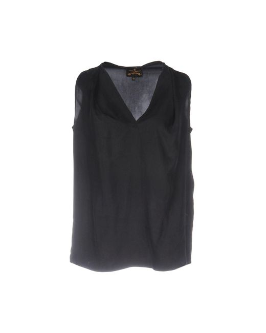 Vivienne Westwood Anglomania | Gray Top | Lyst