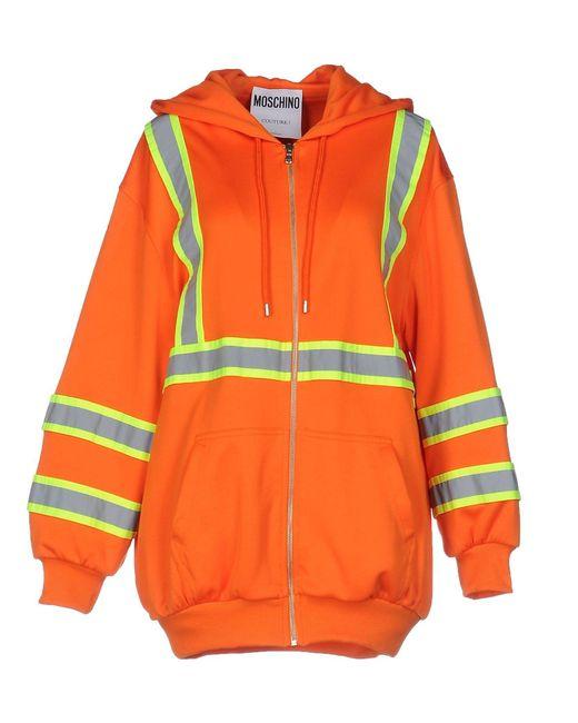 Moschino Couture | Orange Sweatshirt | Lyst