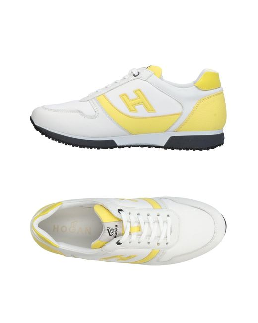Hogan White Low-tops & Sneakers for men