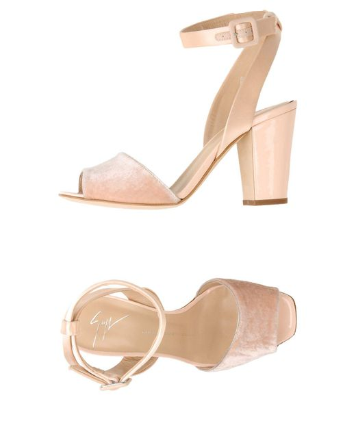Giuseppe Zanotti   Pink Sandals   Lyst