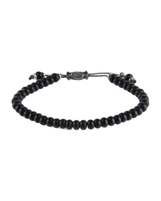 M. Cohen | Black Bracelet for Men | Lyst