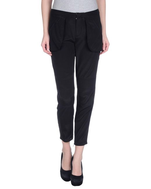 Ports 1961 - Black Casual Pants - Lyst