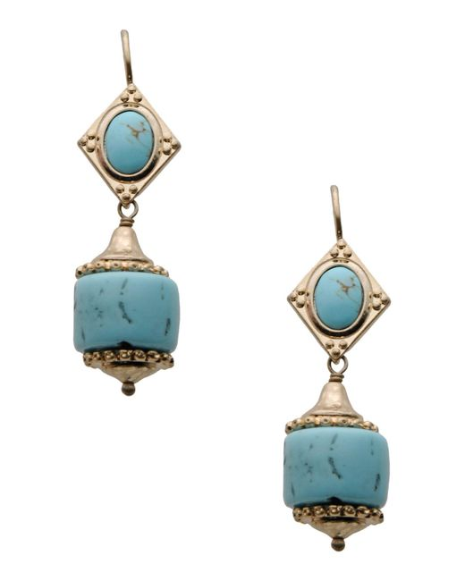 Les Nereides - Blue Earrings - Lyst