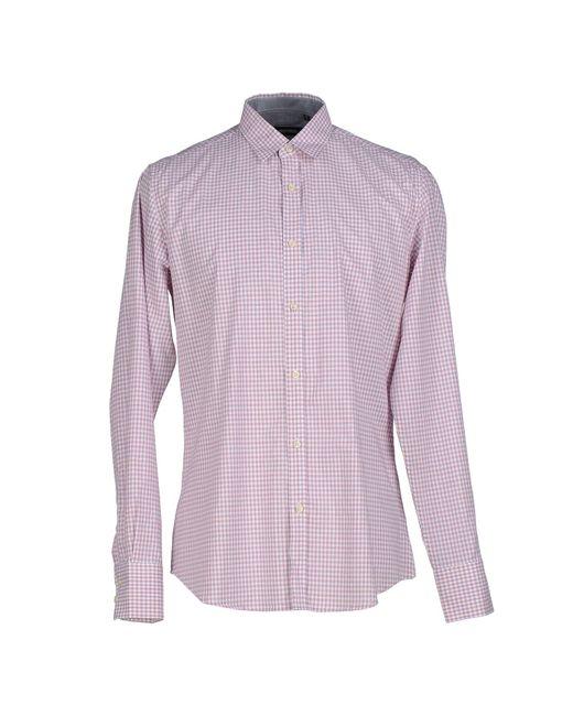 Antony Morato   Purple Shirt for Men   Lyst