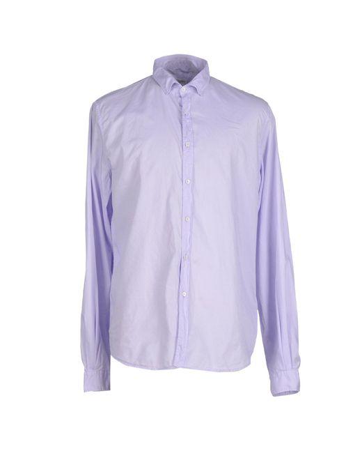 Robert Friedman | Purple Shirt for Men | Lyst