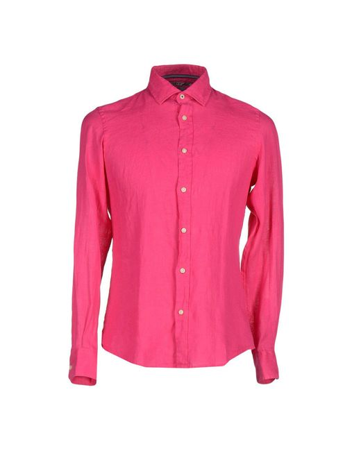 AT.P.CO | Purple Shirt for Men | Lyst