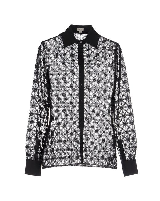 INTROPIA | Black Shirt | Lyst